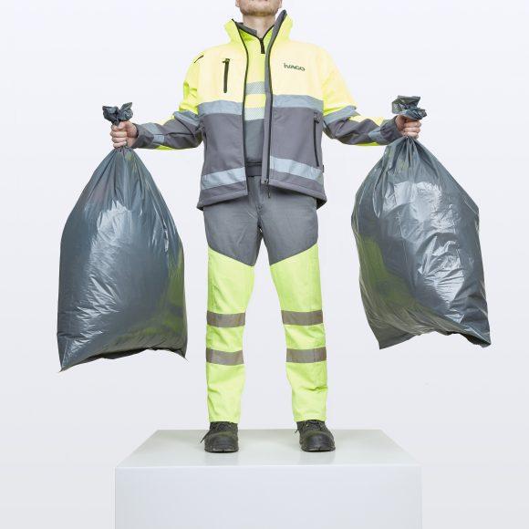 De vuilnisophaler